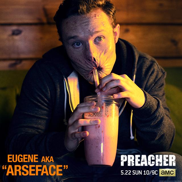 Preacher-arseface