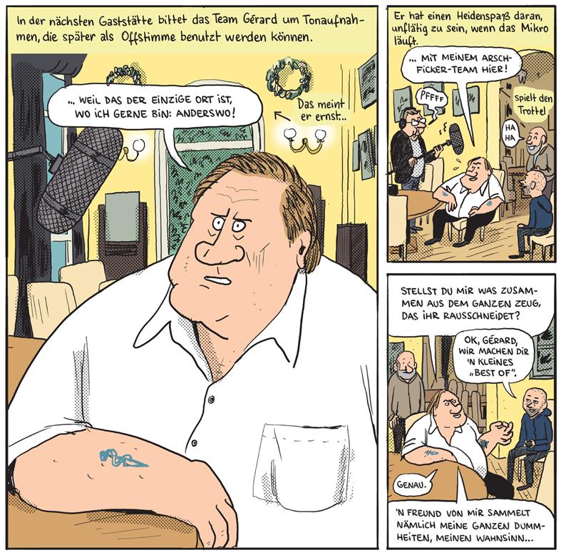 """Er ist wie ein Fleisch gewordener Eiffelturm"""" – Comic.de"""