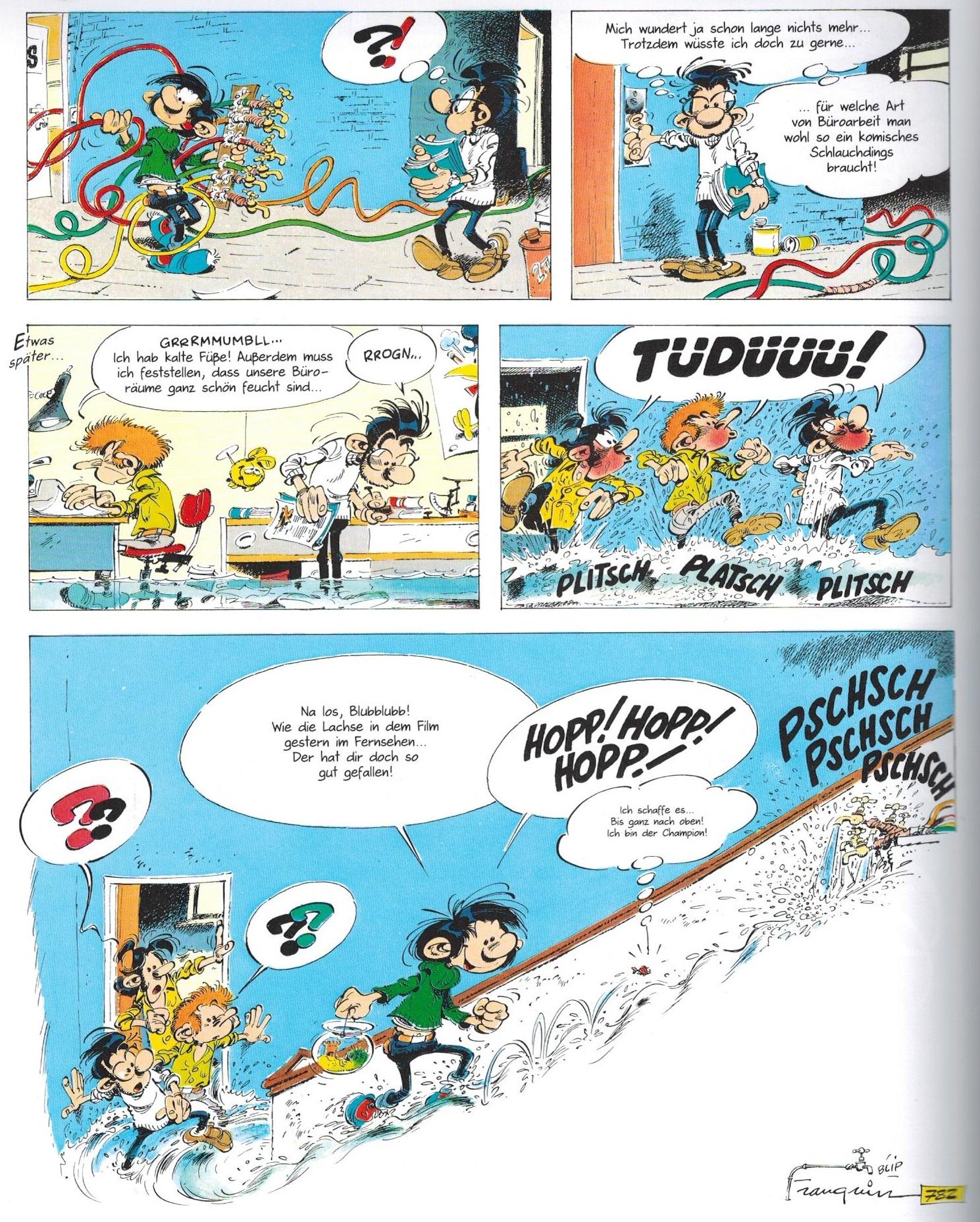 Ein Held Ohne Beschaftigung Gaston Comic De
