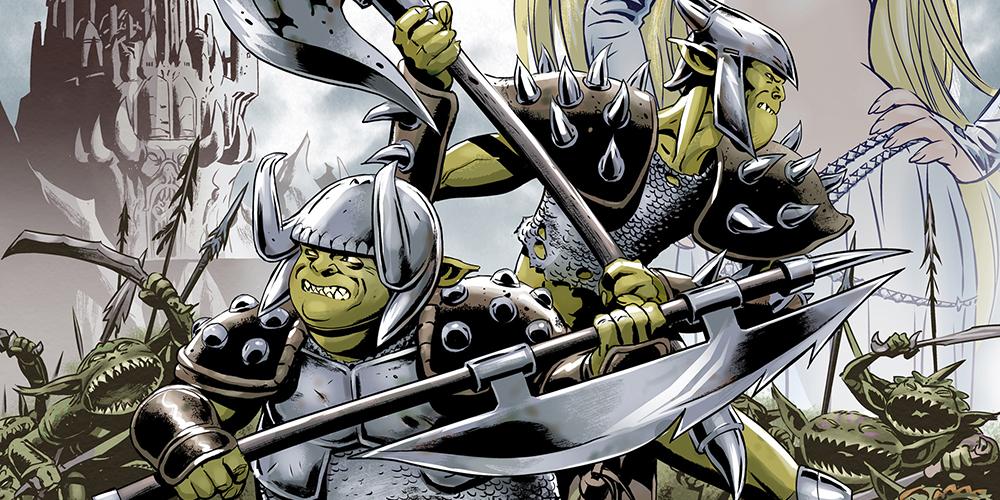 Ork Saga Die Comic Adaption Der Roman Bestseller Von Michael