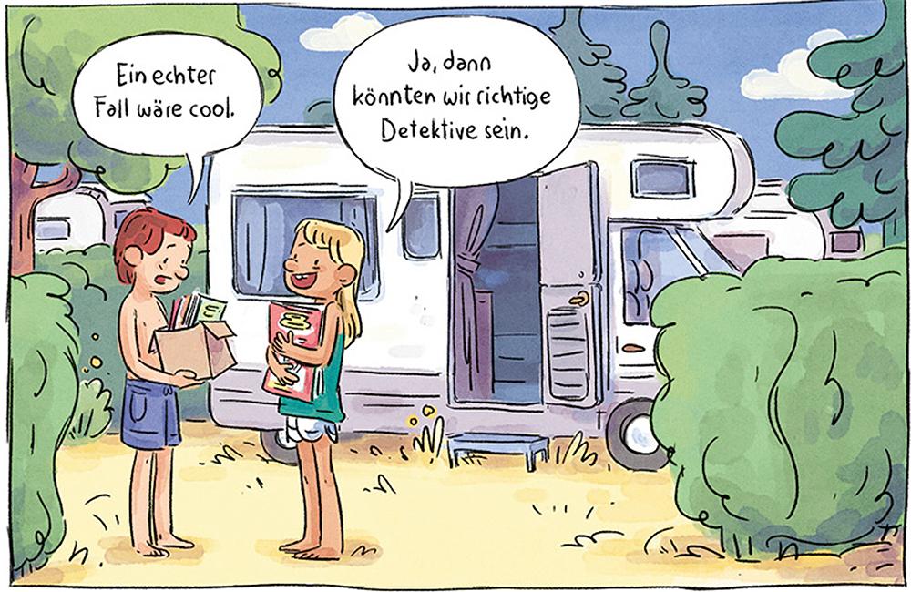 Paula Liebesbrief Des Schreckens Ferien Auf Dem Campingplatz