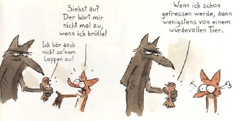 Der grosse böse Fuchs Avant